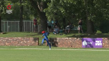 ICC U19 CWC: AUS v AFG – Cooper Connolly well caught on the boundary by Abdul Rahman