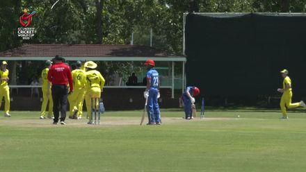ICC U19 CWC: AUS v AFG – Sangha comprehensively bowls Atal
