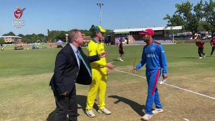ICC U19 CWC: AUS v AFG – Afghanistan win the toss and elect to bat first
