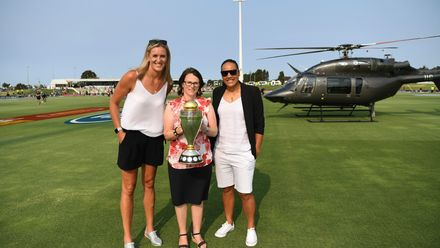 ICC Women's Cricket World Cup 2021 event in Tauranga
