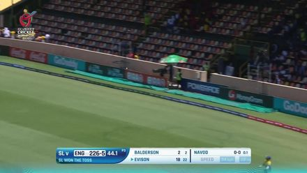 Nissan POTD: Evison smacks a flat six over deep mid-wicket