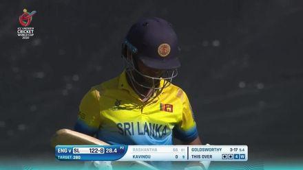 ICC U19 CWC: SL v ENG –Goldsworthy ends Rashantha's valiant knock