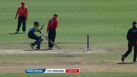 ICC U19 CWC: SL v ENG –Mousley's direct hit sends back skipper Dhananjaya