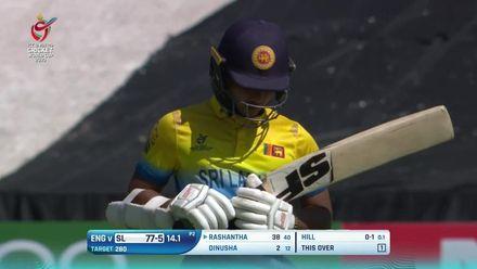 ICC U19 CWC: SL v ENG –Haynes' brilliant direct hit finds Dinusha short
