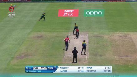 ICC U19 CWC: SL v ENG –Highlights of England innings