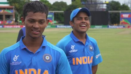 ICC U19 CWC: IND v PAK - Jaiswal wins the game and reaches his hundred with a six