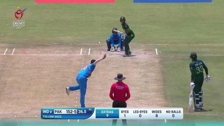 ICC U19 CWC: IND v PAK – Highlights of Rohail Nazir's 62