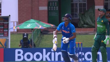 ICC U19 CWC: IND v PAK – Jaiswal takes Aamir Ali to the cleaners with swept six