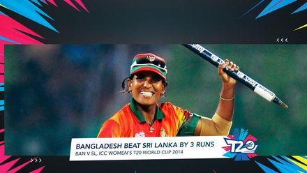 Women's T20WC Greatest Moments: Bangladesh claim maiden win