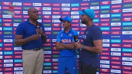 ICC U19 CWC: IND v PAK – Post-match presentation