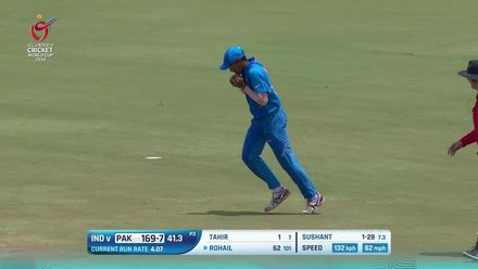 ICC U19 CWC: IND v PAK – The highlights of India's 10-wicket win
