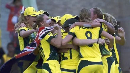 Women's T20WC Greatest Moments: Australia complete hat-trick of titles