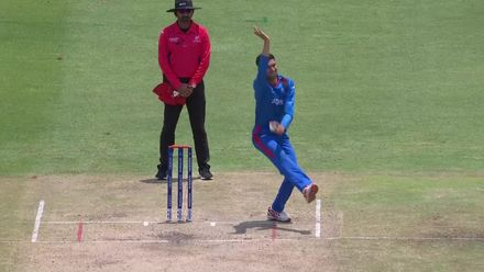ICC U19 CWC: SA v AFG – Brett hits the first six of the march