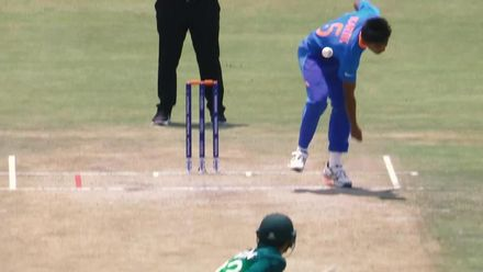 ICC U19 CWC: A montage of India's semi-final win over Pakistan