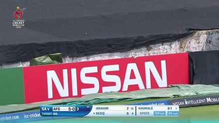 Nissan POTD: Sediq Atal hits glorious straight six