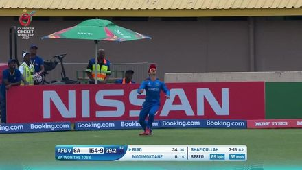 ICC U19 CWC: SA v AFG – Highlights of Afghanistan's convincing win