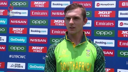ICC U19 CWC: SA v AFG – Jonathan Bird provides an update on his elbow injury