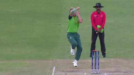 ICC U19 CWC: SA v AFG – Parsons takes superb diving catch to dismiss Ishaq