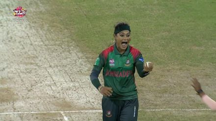 Women's T20WC Greatest Moments: Jahanara Alam takes a brilliant one-handed catch