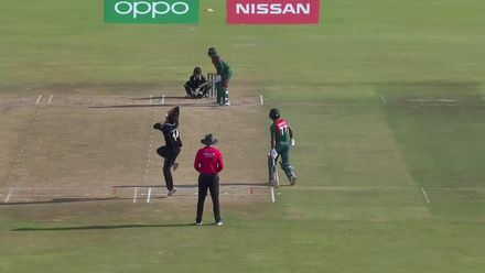 ICC U19 CWC: NZ v BAN – Tashkoff ends Joy's superb knock