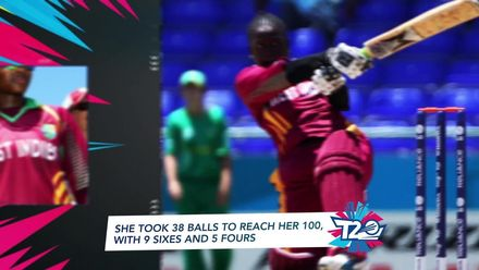 Women's T20WC Greatest Moments: Deandra Dottin makes a sensational hundred