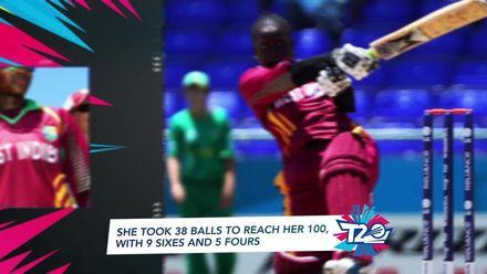 Women's T20WC Greatest Moments: Deandra Dottin makes a sensational hundred