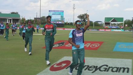 ICC U19 CWC: NZ v BAN – The moment Bangladesh sealed a spot in the final