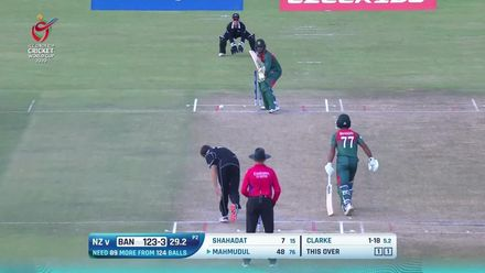 ICC U19 CWC: NZ v BAN – Highlights of Bangladesh's semi-final winning chase