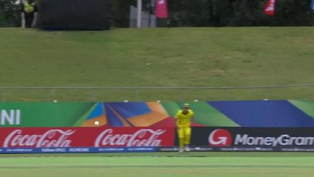 ICC U19 CWC: WI v AUS – Highlights of West Indies' rain-affected chase