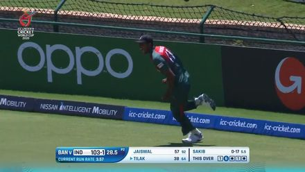 ICC U19 CWC: IND v BAN – All the 17 wickets to fall