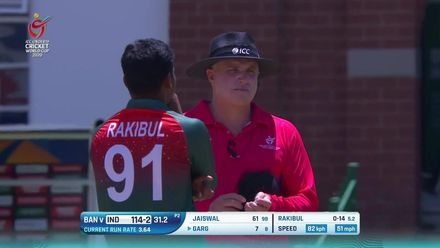 ICC U19 CWC: IND v BAN – Highlights of the India innings