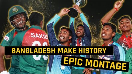 ICC U19 CWC: IND v BAN – Epic montage of Bangladesh's win