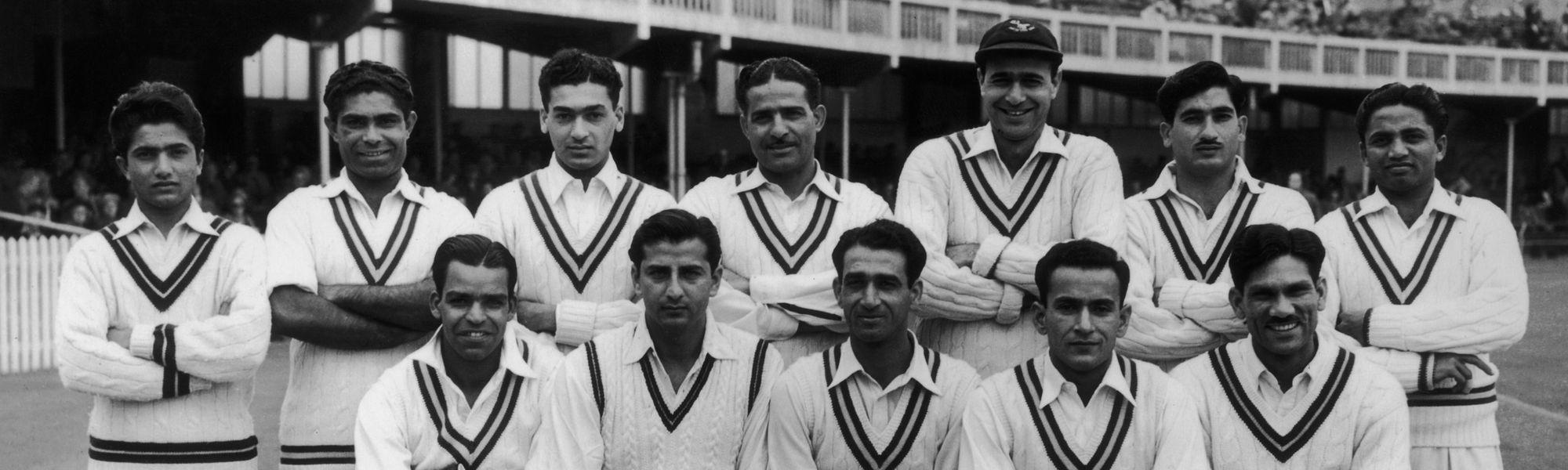 Pakistan's inaugural Test XI