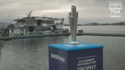 ICC Women's T20 World Cup: Trophy Tour heads to Hobart in Tasmania