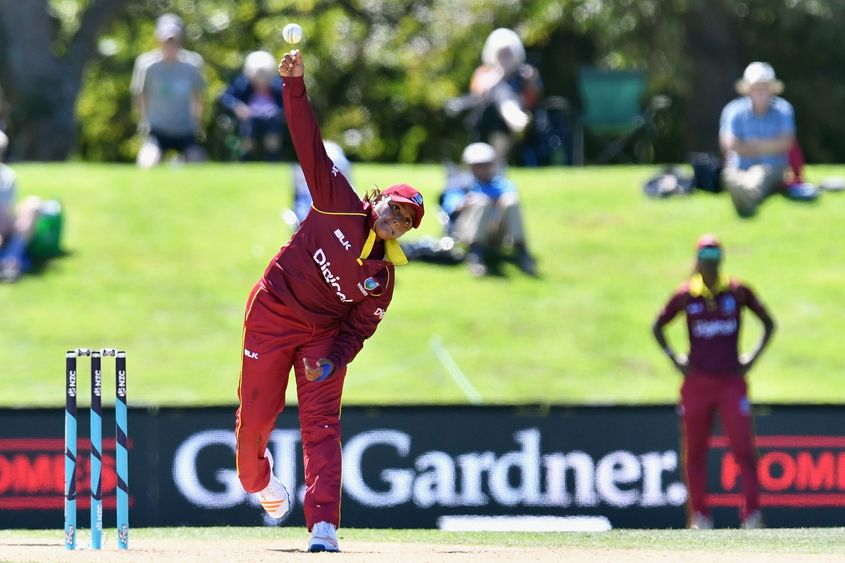 Anisa Mohammed is the world's leading T20I wicket taker