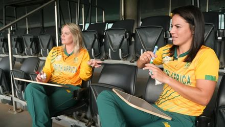 Women's T20WC: Perfect Pairs with Dane van Niekerk and Marizanne Kapp