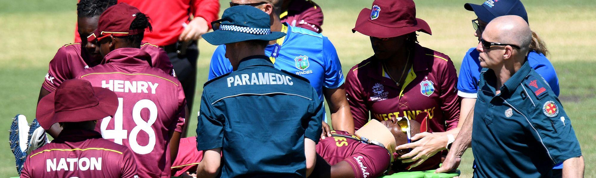 Shakera Selman injury