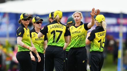 WT20WC: AUS v SA warm-up – Australia win