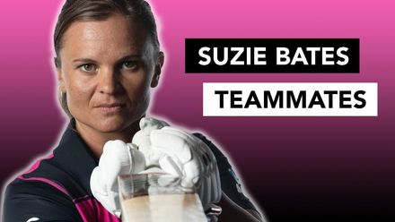 WT20WC: Teammates with Suzie Bates