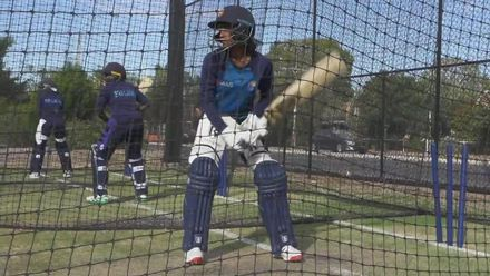 WT20WC: At the nets – Sri Lanka's Harshitha Madhavi