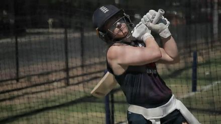 WT20WC: At the Nets with Tammy Beaumont