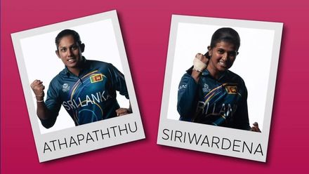 WT20WC: Perfect Pairs – Chamari Athapaththu and Shashikala Siriwardena