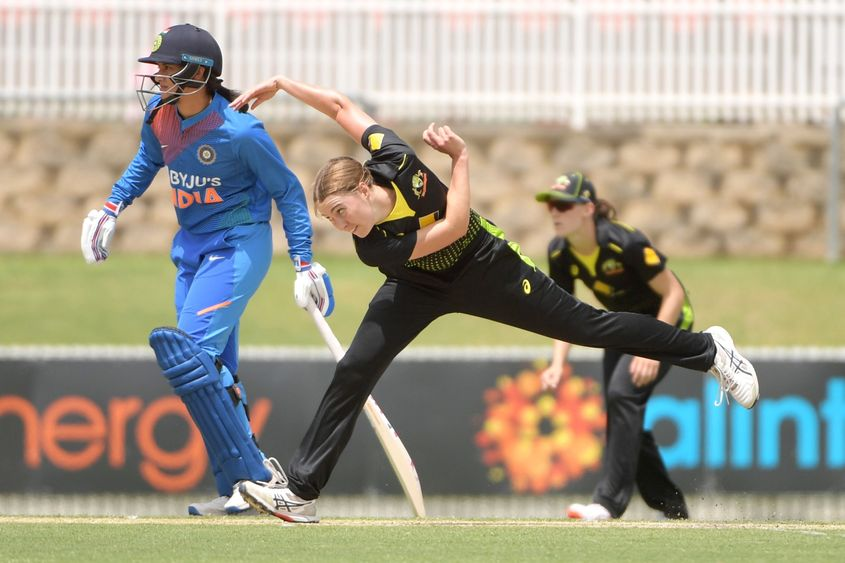 Tayla Vlaeminck is rated as one of the quickest bowlers in the world