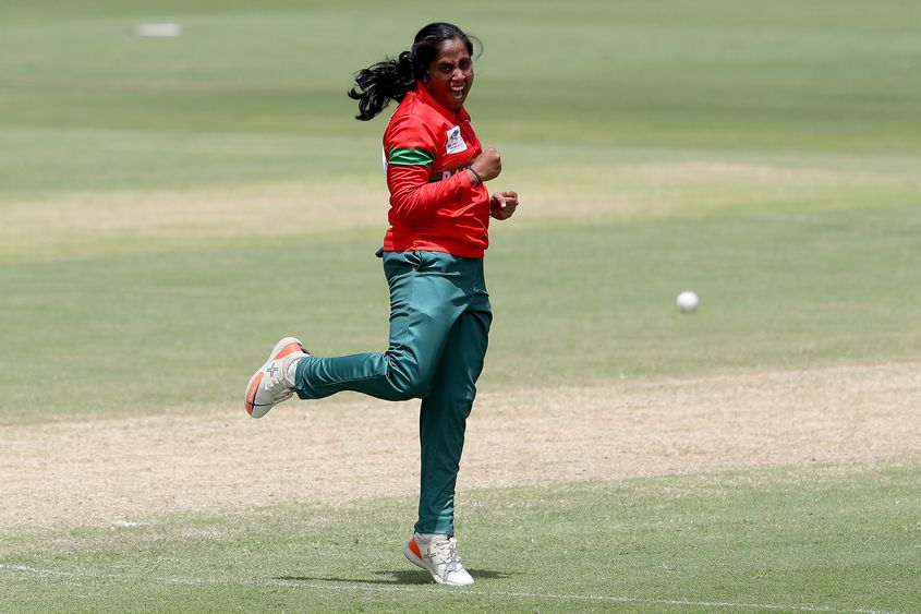 Bangladesh were pumped up trying to achieve victory