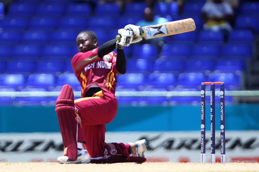In 2010, Dottin smashed the first T20I century by a woman