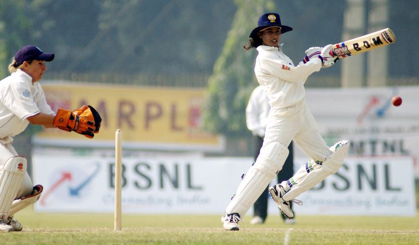 Few people took notice of Mithali Raj's world record Test score in 2002, according to her