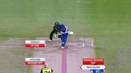 WT20WC: Aus v Ind – Rodrigues LBW for 26