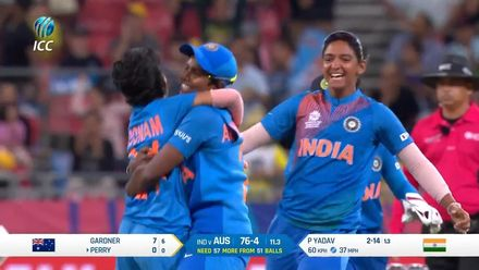 WT20WC: Aus v Ind – Yadav takes two in two