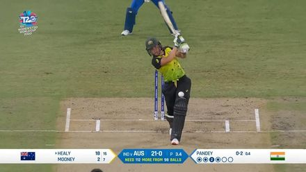 WT20WC: Aus v Ind – Good start for Healy!