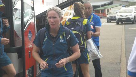 WT20WC: Aus v Ind - The teams arrive